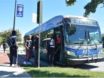 Public transit can help this population access needed services, particularly wounded veterans with limited mobility, according to the report.