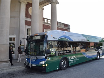 Photo: Greensboro Transit Authority bus via City of Greensboro, N.C.