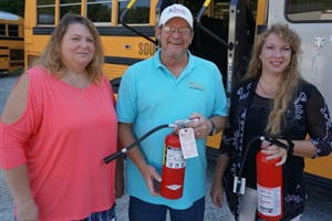 Supervisor Honored For Response To Special Needs Bus Fire Special
