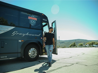 Many of the big stories in the intercity motorcoach industry revolved around biggest players, such as FirstGroup LLC announcing its intention to sell Greyhound.
