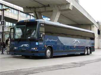 Greyhound bus via Flickr- matt7d