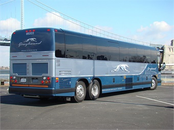 The driver and his eight passengers were headed to Los Angeles from San Francisco. The cause of the fire is under investigation.