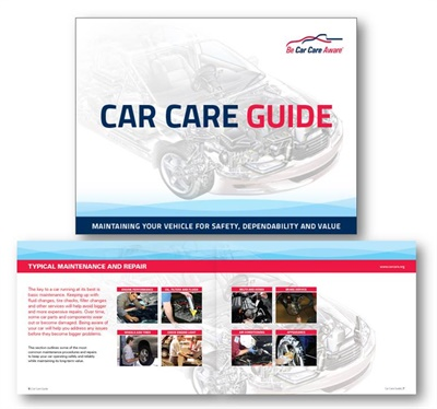 The Car Care Council is offering this 80-page Car Care Guide.