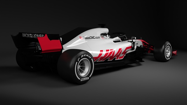 The Haas VF-18 races for the first time this weekend in Australia.