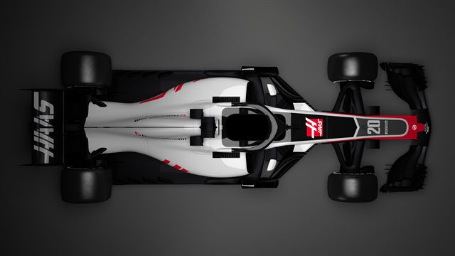 Overhead view of the new Haas VF-18.