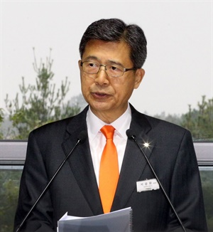"""I believe the new Hankook Technodome will be a great foundation to lead the future of tire technology,"" said Hankook Vice Chairman and CEO Seung Hwa Suh."