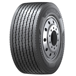 Hankook says the e3 Wide DL21 is available in size 445/50R22.5.