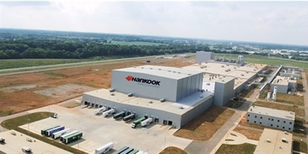 Hankook's plant in Tennessee can produce 13,900 consumer tires per day at full capacity,...