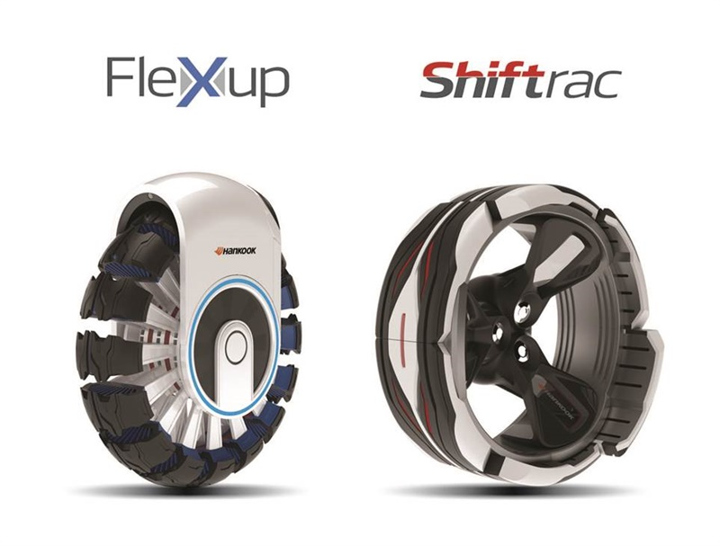 The Flexup and Shiftrac concept tires earned bronze and finalist awards, respectively, in the 2017 IDEA program.