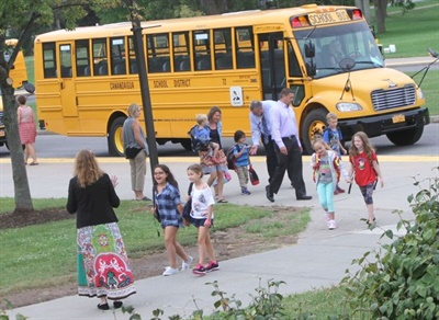 Bellwether Education Partners' three new reports address school choice, greener alternatives, and safety issues associated with various modes of transportation taken to and from school. File photo courtesy Scott Goble