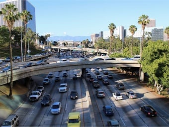 Congestion pricing could encourage more drivers to take public transit, while cutting down on LA's notorious traffic, but added that he wasn't clear yet how the system would work.
