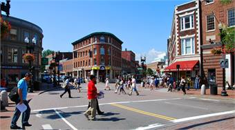 Harvard Square photo by chensiyuan via Creative Commons