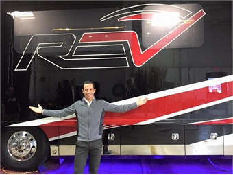 REV will also be the primary sponsor of three-time Indianapolis 500 winner Helio Castroneves during the Phoenix Grand Prix of the Verizon IndyCar Series.