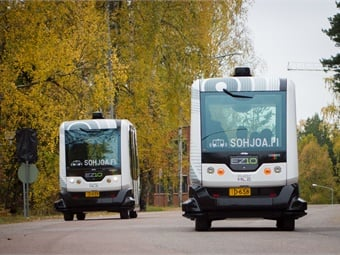 Paving the way for RoboBus, two driverless minibuses have been tested in real traffic conditions in Helsinki and other Finnish cities since summer 2016, and these test runs will continue in Helsinki in summer 2017.