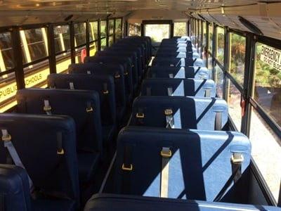 So far, Henrico County has acquired 24 new school buses since adding seat belts to its specs.