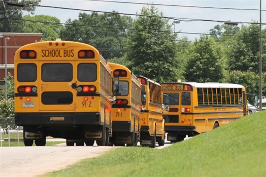 """An event next week will cover """"the current state of school transportation from multiple perspectives,"""" according to Bellwether Education Partners. Photo by JD Hardin"""