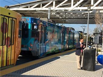 Li's accomplishments include jump-starting a comprehensive rail system modernization and expansion initiative. SacRT