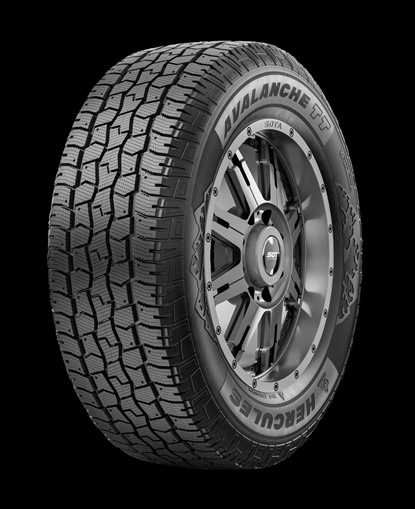 The Avalanche TT is the latest addition to the Hercules winter tire line. It will be available in 23 sizes, ranging from 16 to 22 inches.