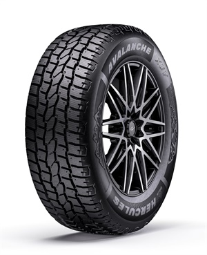 The Hercules Avalanche XUV tire is available in eight sizes for CUVs and SUVs, including four with higher load index ratings.