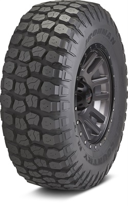 Hercules says the Ironman All Country M/T delivers off-road traction in the most adverse conditions, durability in extended off-road use, and a studdable tread for extra bite.