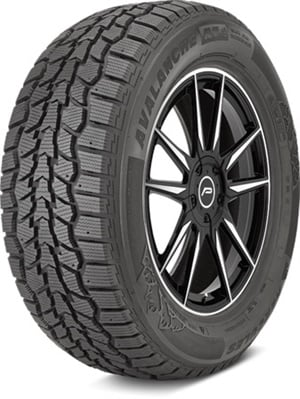 Available in 41 sizes, the new Avalanche RT studdable winter tire is certified with the 3-Peak Mountain Snowflake designation.