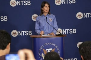 President Obama nominated Deborah Hersman to serve another five-year term on the National Transportation Safety Board and another two-year term as chairman. Photo courtesy NTSB