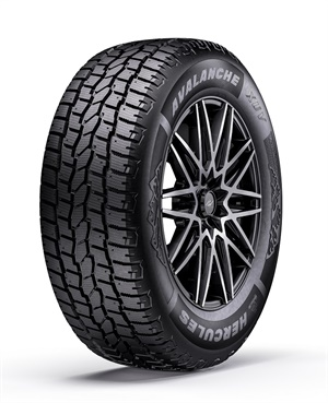 Hercules says the new Avalanche XUV winter tire optimizes the performance of SUVs and CUVs when the weather turns cold.