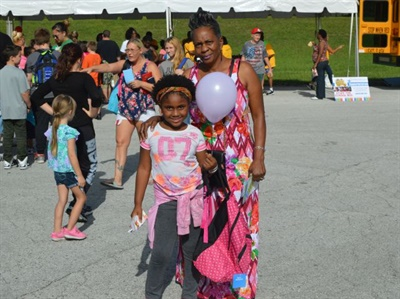 More than 500 backpacks filled with school supplies were distributed to students at Hillsborough County Public Schools' transportation event.