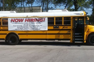 Pay raises, a 40-hour work week and attendance bonuses are key factors in Metro Nashville Public Schools' new plan to address school bus driver recruitment and retention.
