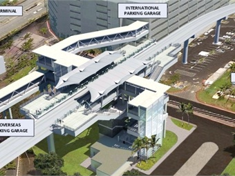 A rendering of the HART project.