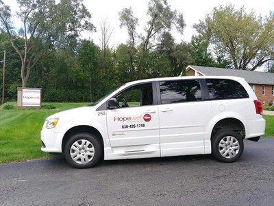 First Student has signed an agreement to purchase special-needs transportation company Hopewell Transportation. Shown here is one of the company's minivans. Photo courtesy First Student