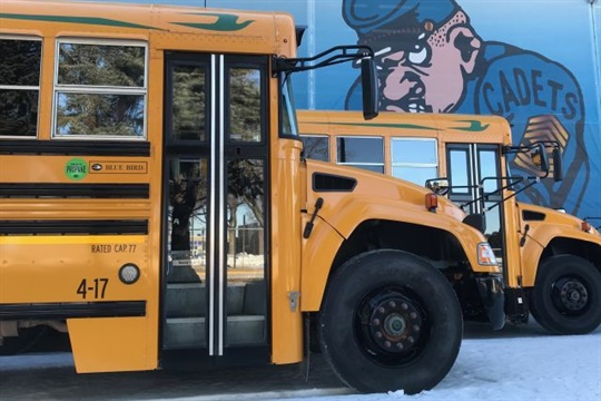 With temperatures as low as minus 30, Howard-Winneshiek CSD says its propane buses warm up in a few minutes.