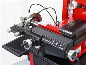 Hunter says technicians can use the new BL Series bench lathe to provide faster service by changing from rotors to drums in seconds.
