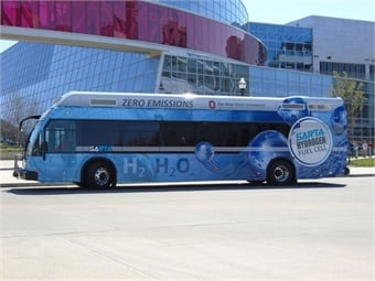 Ohio currently ranks second in the U.S. for hydrogen fuel-cell buses, one of which is part of the campus bus fleet at the Ohio State University where data is collected from both the bus and the refueling station for research purposes. RHFCC