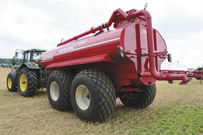 Alliance Tire Americas says its 330 flotation tire has long been a staple of implement original equipment manufacturers for its massive load capacity, low inflation pressure and road speed of up to 31 mph.