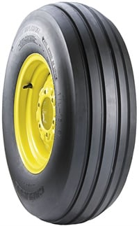 The DOT-approved Carlisle Farm Specialist F-1 tire is designed for intermittent highway speeds.