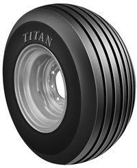 The Stubble Guard tire from Titan features stubble-resistant compounding, eight body plies and four Kevlar belts in the tread and sidewalls for superior protection from sharp stalks.