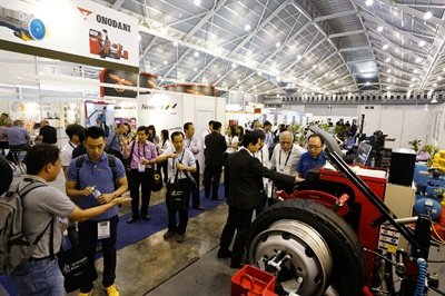More than 100 international companies have signed on to exhibit at Tyrexpo Africa in April.