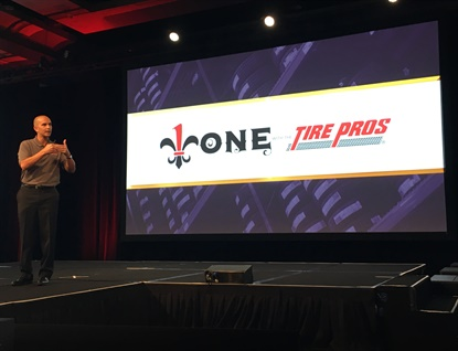 Ron Sinclair says as of Jan. 1, 2017, there were 748 Tire Pros stores, including 84 new stores enrolled in 2016 for a net growth of 44 stores.