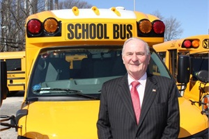 Bob Pape, partner and officer secretary with Dell Transportation in Port Washington, N.Y., brings more than 40 years of experience in pupil transportation to his new role as president of the New York School Bus Contractors Association.