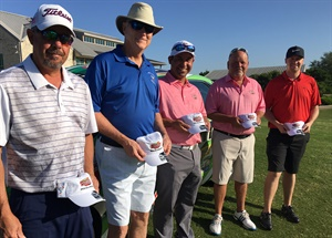 More of the active and retired military who enjoyed the pro am event.