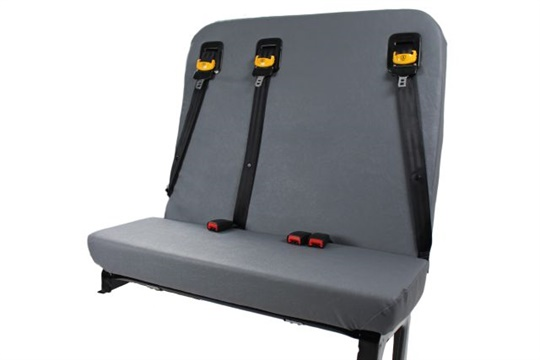 The new SafeGuard BTI school bus seat can now be ordered in IC Bus models.