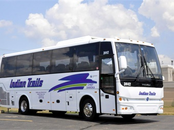 Also included were four new mid-size buses, built by Temsa, each with 34 passenger seating capacity.