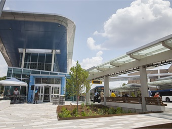 Indianapolis Transit Center. Photos: Axis Architecture and Interiors
