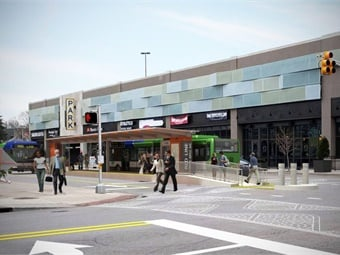 A rendering of the Red Line project.