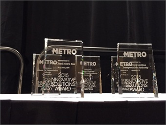 METRO Magazine's Innovative Solutions awards