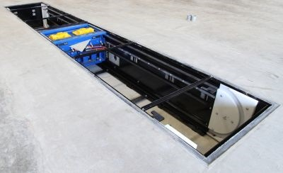 A new installation method for Rotary's heavy-duty in-ground lifts uses precast concrete vaults.