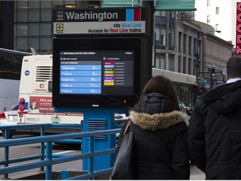 Intersection will install 775 new digital screens; nearly tripling the 425 digital screens currently found across CTA's rail system. 