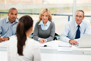 Pre-screening, taking a conversational tone, and picking the right interview team members help find the right fit. iStock image.