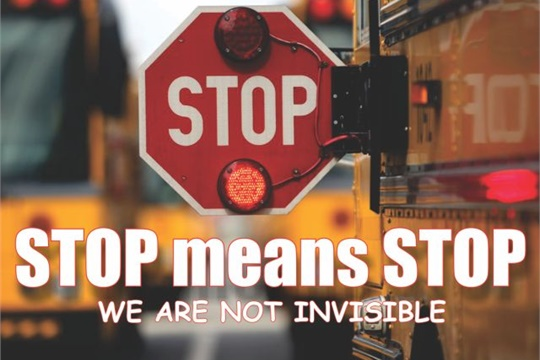 "RD Huntley's talk illustrated why school buses should not be ""invisible"" to other motorists. He works for Cascade Student Transportation, which services West Ada School District in Meridian, Idaho."